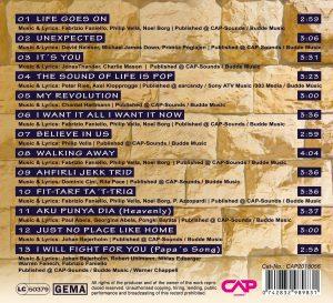 Unexpected track list. Fabrizio Faniello Malta