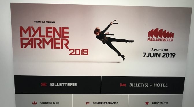 Tickets to Mylene