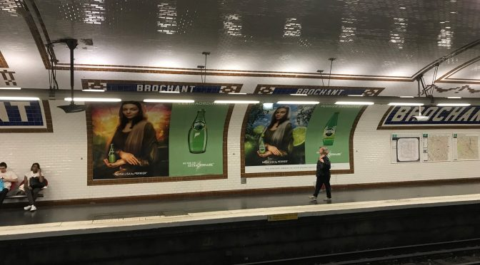 Mona Lisa, Perrier
