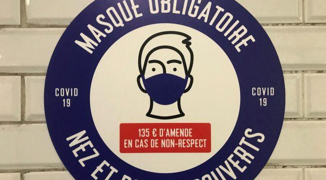 Mask in France