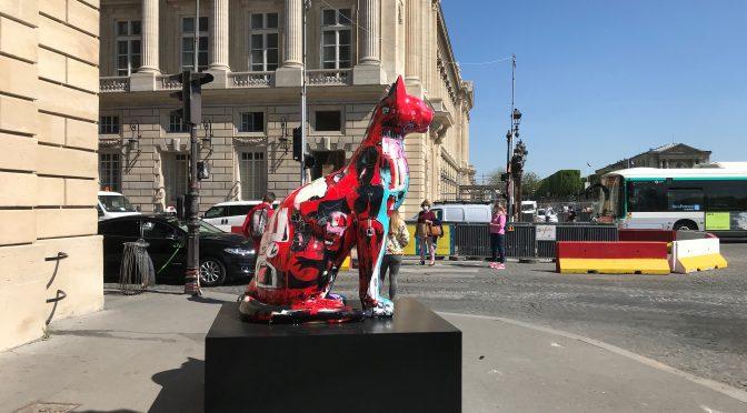 Kissekatt in Paris April 2021