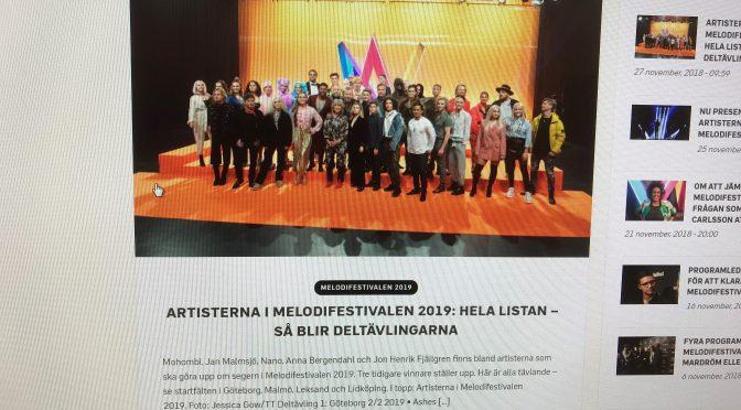 Mello 2019 – Swedish only