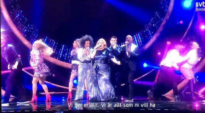 Swedish pre-selection started, the melodifestivalen 2019